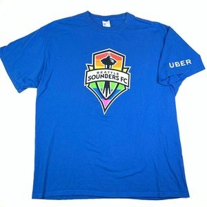 Seattle Sounders x Uber T-shirt